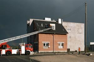 Neubau Feuerwehrübungshaus, Bruchsal